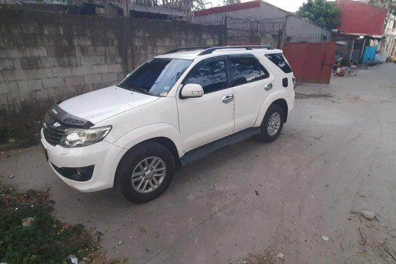 Toyota Fortuner G 2012 Diesel Automatic