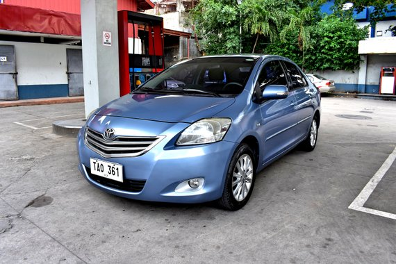 2011 TOYOTA VIOS 1.5 G AUTOMATIC BLUE
