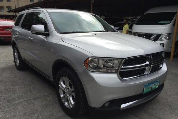 Silver Dodge Durango 2012 for sale in Quezon