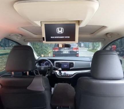 Brightsilver Honda Odyssey 2018 for sale in Quezon