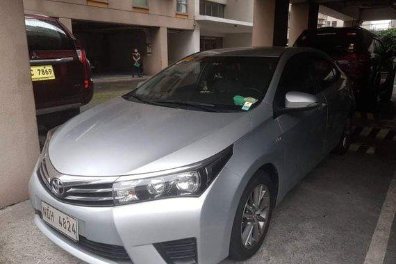 2015 Toyota Altis 1.6E MT for SALE