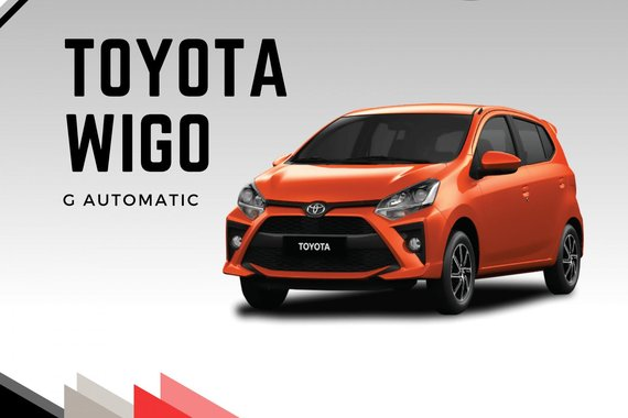 BRAND NEW TOYOTA WIGO 0% INTEREST + BIG DISCOUNT PROMOS! - 30% DP @ PHP 2,677 M.A ONLY FOR 5 YEARS!