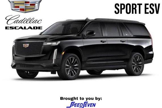 Brand New 2021 Cadillac Escalade Sport ESV