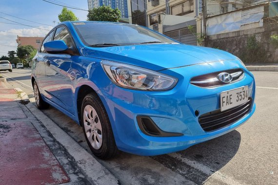 Reserved! Lockdown Sale! 2019 Hyundai Accent 1.4 GL Gas Automatic Blue 20T Kms Only FAE3534