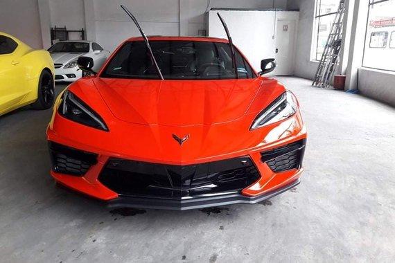 Brand new 2021 Chevrolet Corvette C8 3LT Trim