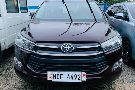 2017 Toyota Innova New Look Blackish red Manual Diesel