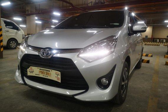 Toyota Wigo 1.0 G Automatic 2020 for sale cebu