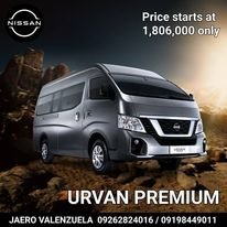 Nissan Urvan NV350 M/T (2020)