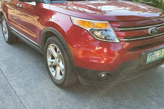 Ford Explorer limited 2013 AT