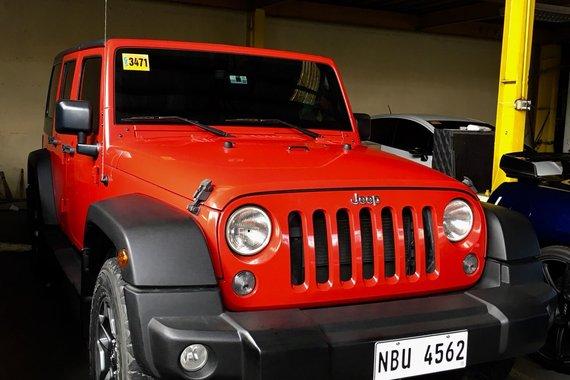2017 Jeep Wrangler Unlimited Sport 4x4 GAS 3.6L V6