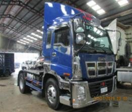 SELLING ISUZU E SERIES EXR 4X2 TRACTOR HEAD PRIME MOVER 6 WHEEL