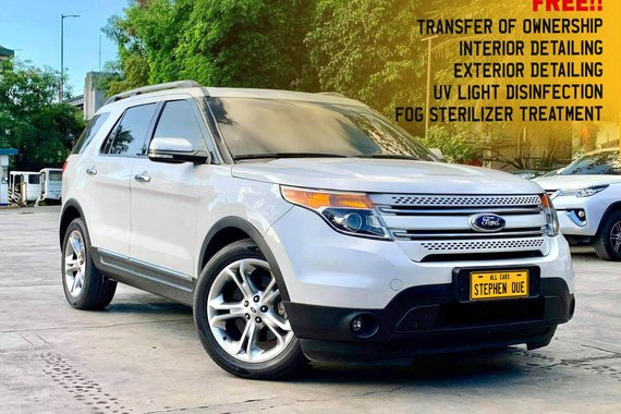 2014 Ford Explorer 2.0 Ecoboost Limited A/T Gas