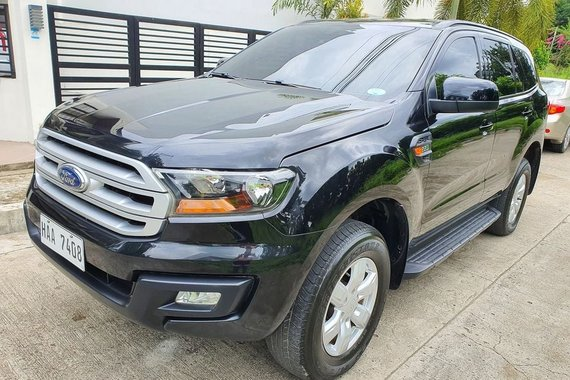 2017 FORD EVEREST Manual Trans