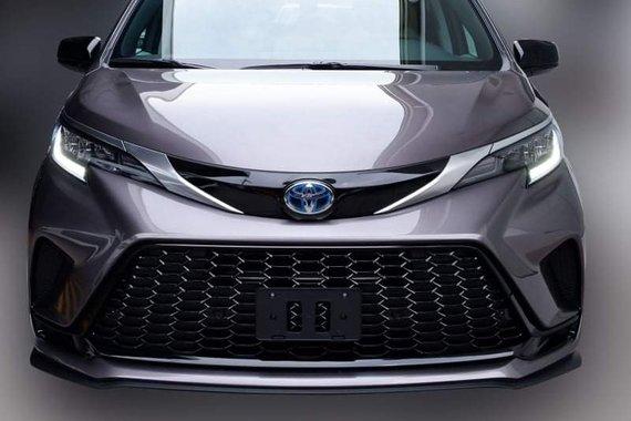 Brand new 2021 Toyota Sienna XSE