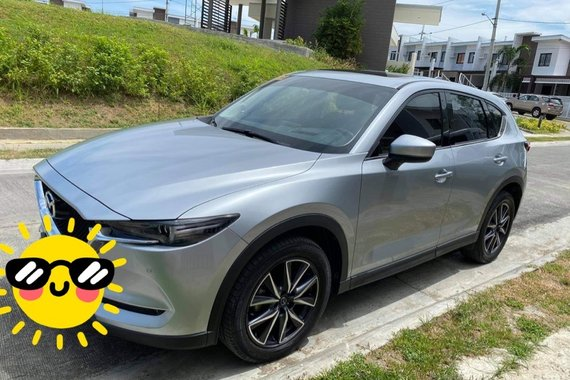 Selling Silver 2019 Mazda CX-5 Sport SkyActiv-G 2.5 AWD AT
