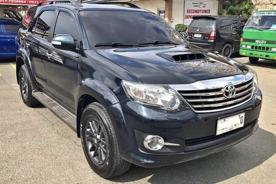 2nd hand 2016 Toyota Fortuner  2.4 V Diesel 4x2 AT for sale in good condition