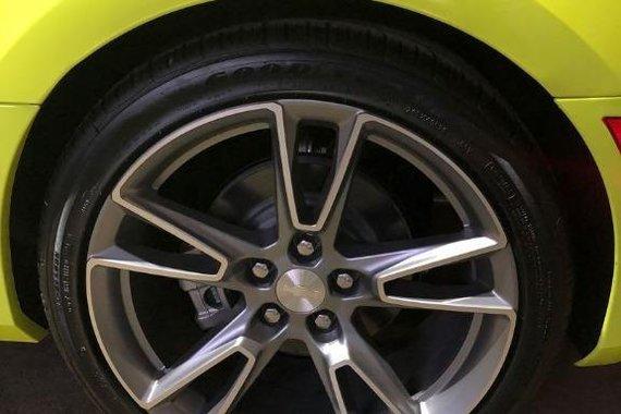 Yellow Chevrolet Camaro 2021 for sale in Quezon