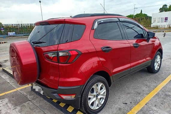 Selling Red Ford Ecosport 2016 in Valenzuela