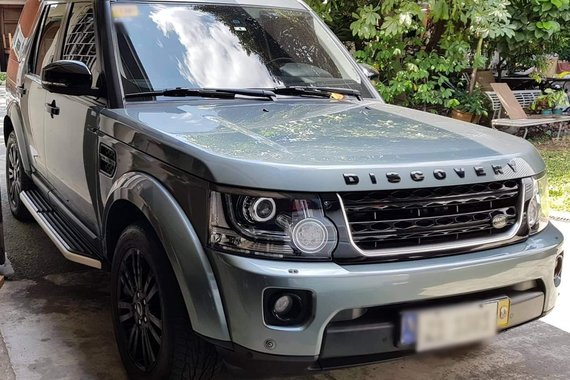 Used 2016 Land Rover Discovery LR4 Black edition