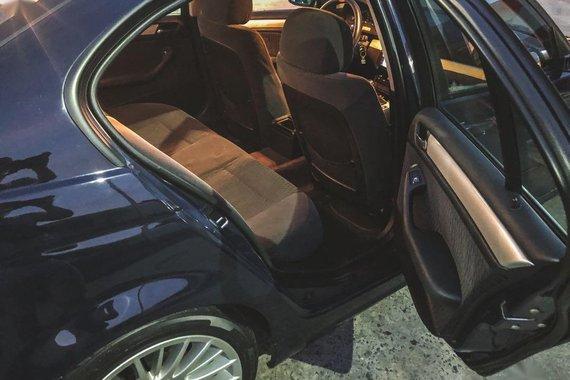 Black BMW 316i 2000 for sale in Makati