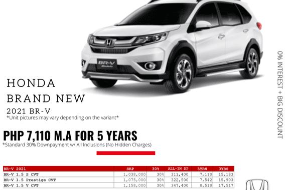 2021 Honda BR-V  1.5 S CVT