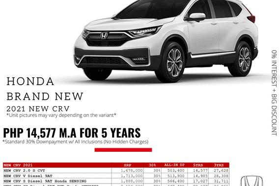 2021 Honda CR-V  2.0 S CVT