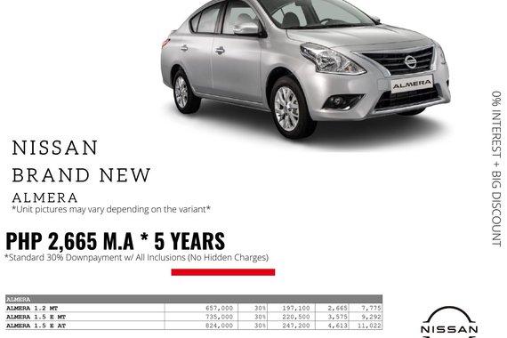 2021 Nissan Almera  1.2 MT