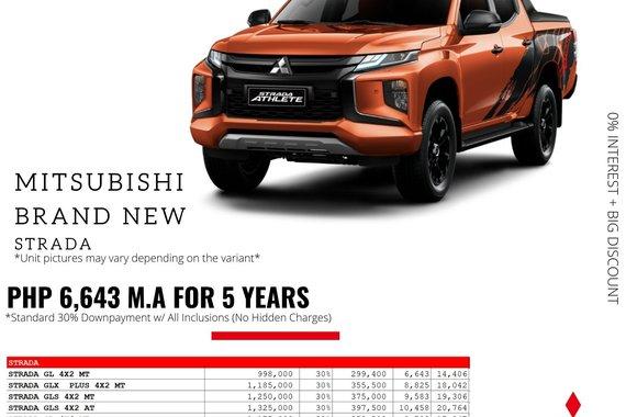 2021 Mitsubishi Strada  GLS 2WD AT