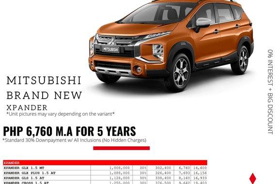 2021 Mitsubishi Xpander  GLS 1.5G 2WD AT