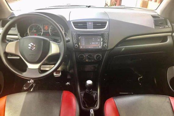 Red 2016 Suzuki Swift Hatchback