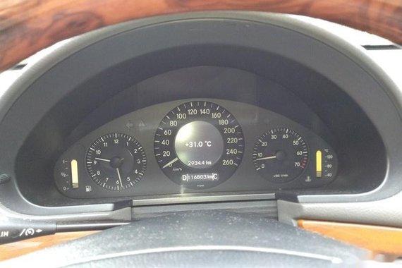 Blue Mercedes-Benz E-Class 2007 Sedan for sale in Manila
