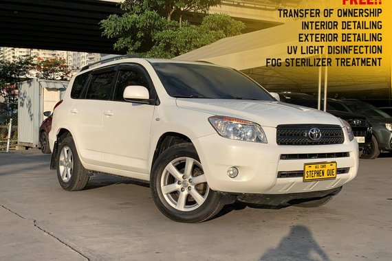 Selling White 2007 Toyota RAV4 SUV / Crossover affordable price