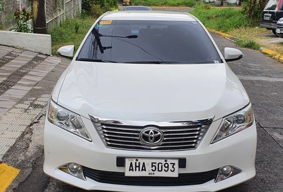 2015 Camry G AT - Pearl White