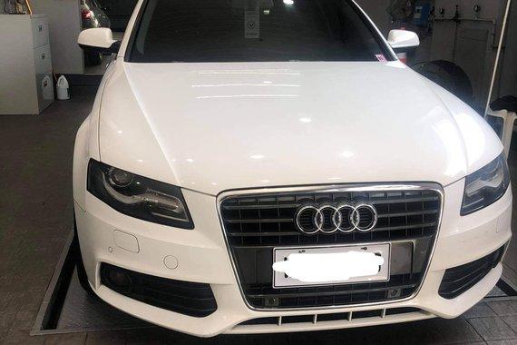 White 2013 Audi A4  2.0 TDI Automatic For Sale
