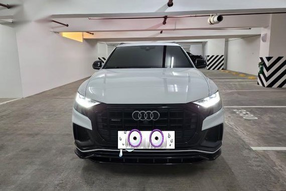 White Audi Q8 2019 for sale in Taguig
