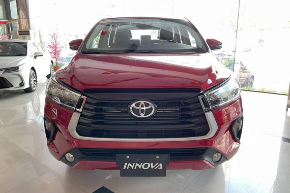 Get Your Brand New 2021 Toyota Innova  2.8 E Diesel AT
