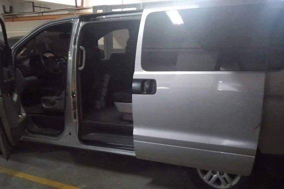 Silver Hyundai Grand Starex 2015 for sale in Manila