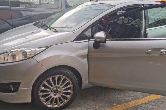 Silver Ford Fiesta 2015 for sale in Manila