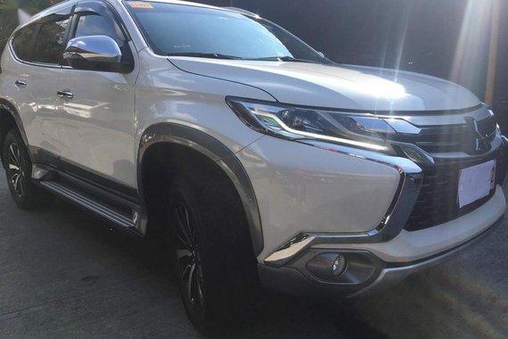 Pearl White Mitsubishi Montero Sport 2019 for sale in Pasig