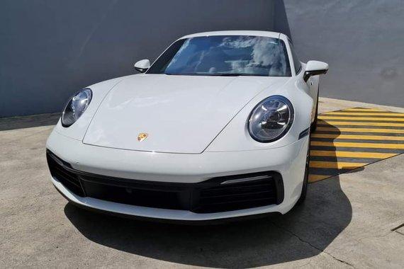 Brand new 2021 Porsche 911 Carrera S