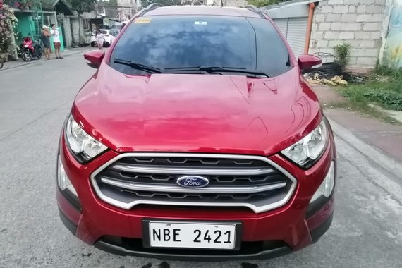 2018 Ford Ecosport New Look