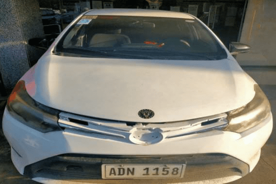 Selling White Toyota Vios 2016 in Caloocan