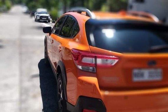 Orange Subaru Xv 2018