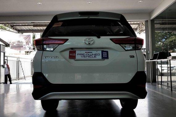 White Toyota Rush 2019