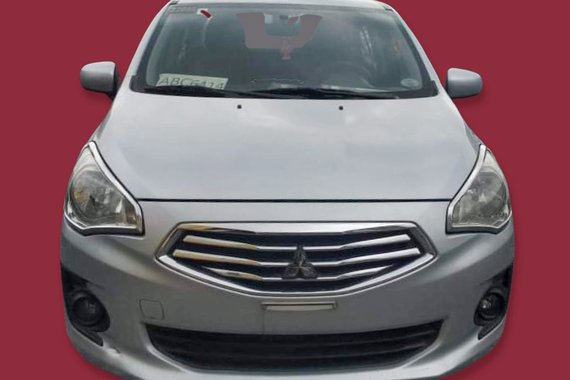 Rush Sale! Selling Silver 2015 Mitsubishi Mirage G4  GLX 1.2 MT second hand