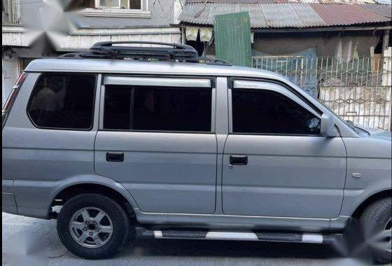 Silver Mitsubishi Adventure 2011