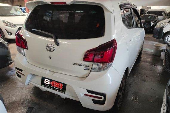 White Toyota Wigo 2019 for sale in Quezon