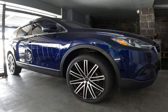 Selling Blue Mazda CX-9 2015 in Quezon