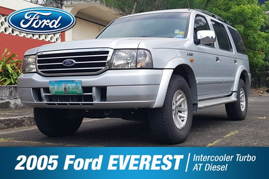 SALE 2005 Silver Ford EVEREST AUTOMATIC Diesel
