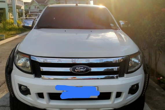 White 2014 Ford Ranger  2.2 XLT 4x2 AT Automatic for sale